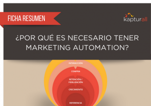 Por que es necesario Marketing Automation