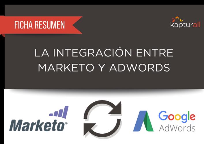 La integración entre Marketo y Adwords