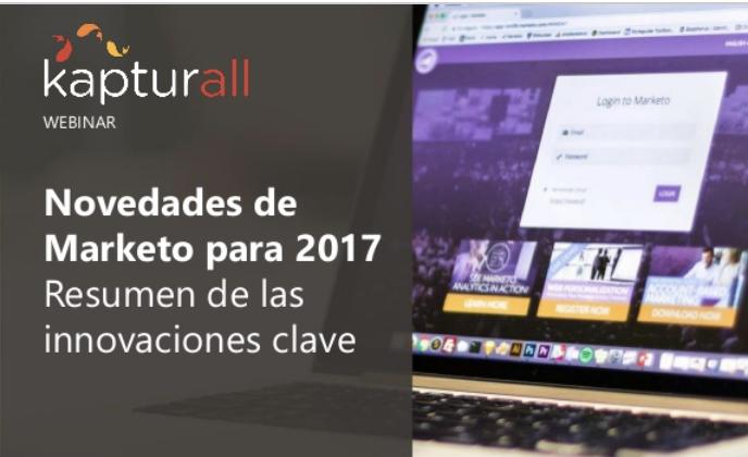 Webinar: Novedades de Marketo en 2017